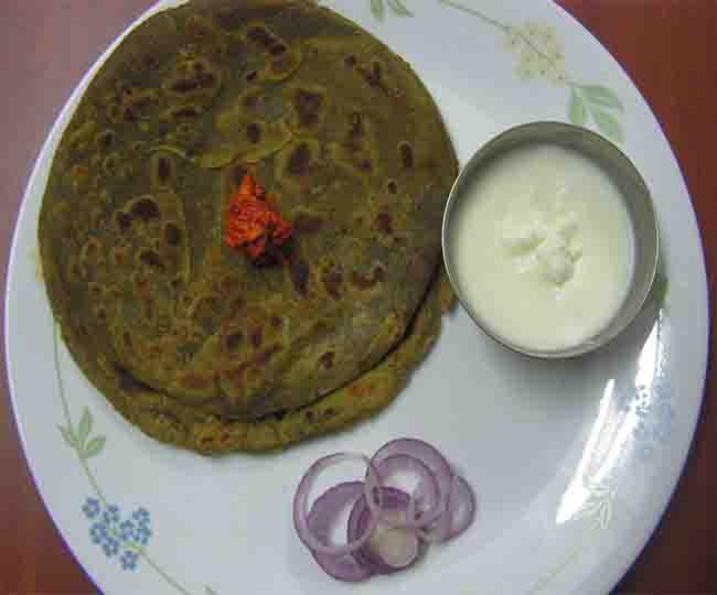 Make healthy lachchaa Paratha