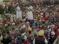 Congress protest against Shiromani Akali Dal in Amritsar