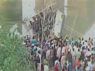 Bus falls into river ambika , 25 died