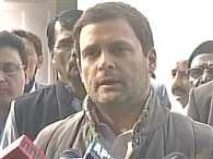 rahul gandhi says pm must act not to pretend