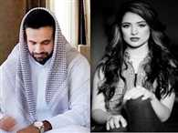 Cricketer Irfan Pathan tie knot with model Safa