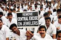 Jewellers effect showing off, traders take out rally in Rajasthan