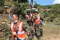 Nepalese Army took command of relief