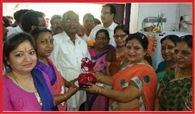 marwari mahila manch installed water cooler in court campus