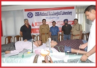 blood donation at NML