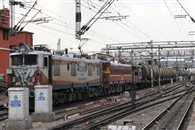 UP Is Not Excepting Water Express Of Railway, Train Is In  Jhansi Yard