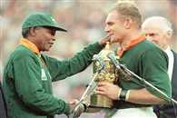 New Zealand rugby team were deliberately poisoned before they lost world cup final to South Africa, claims Nelson Mandela's bodyguard