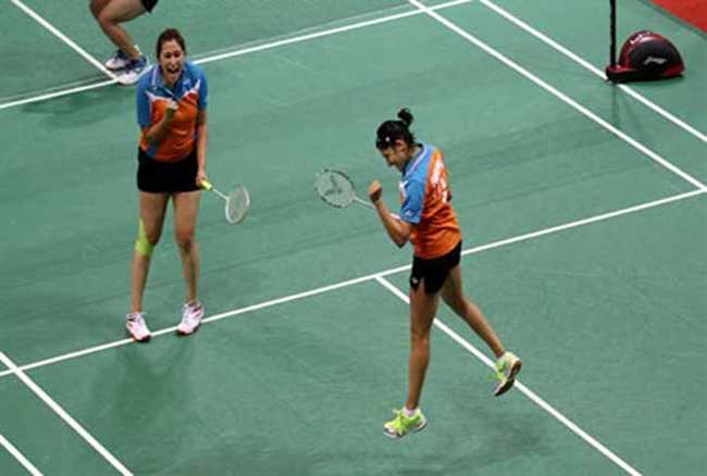 Rankings of Jwala and Ashwini improved by one spot