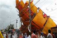 Simhasth Kumbh 2016: 7 people dead and 80 injured after pandal collapsed due to heavy rainfall in Ujjain