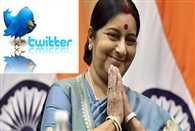 Sushma Swaraj most followed woman world leader on Twitter