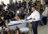 Greece referendum closes with polls suggesting 'No' lead