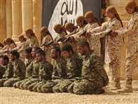 isis brutally shot dead 25 syrian soldiers at ancient Palmyra ruin