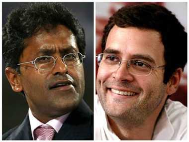 now Lalit modi's attack on rahul gandhi