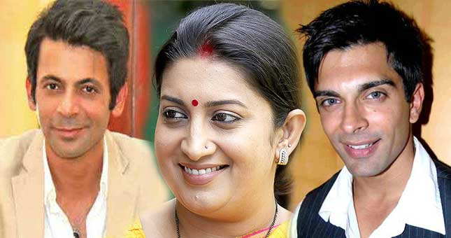 TV Stars comeback in their own serial