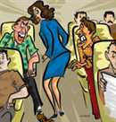 molestation with Air hostess
