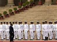 Mozambique President Filipe Nyusi accorded Guard of Honour at Rashtrapati Bhavan