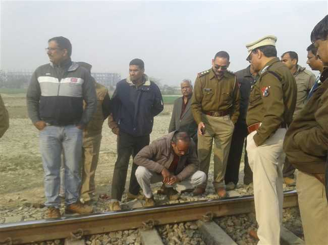 third rail bite in Lucknow , try to train Direl