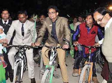 rajasthan ,bicycle ,jhalawar ,Jagran news,राजस्थान,साइकिल,बारात