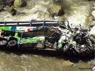 Bus falls in river in Navsari of Gujarat, many killed