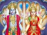 श्री हरि के चार हाथ उनकी शक्तिशाली और सब व्यापक प्रकृति का संकेत देते है
