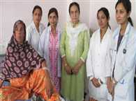 Given birth to five girls together
