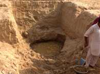 Excavation in search of Saraswati River