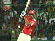 Akshar Patel showed his solid batting performance against Bangalore