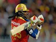 Gayle hits quick ton against Punjab