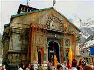 Kedarnath shrine was performed by priests in Ukhimath