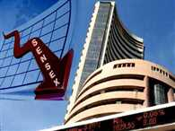 Sensex closes down on crude oil and tax concerns