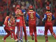 RCB post 227 runs target against Punjab