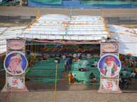 Asaram's camp did not place in the fair area, put out