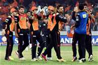 Sunrisers Hyderabad VS Gujarat Lions