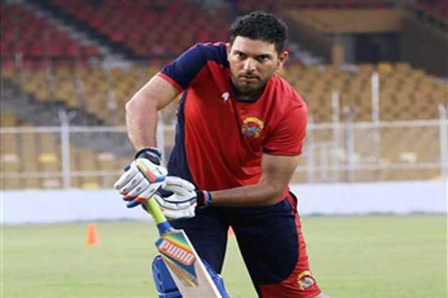 Yuvraj Singh will play today against Gujarat Lions in IPL 9