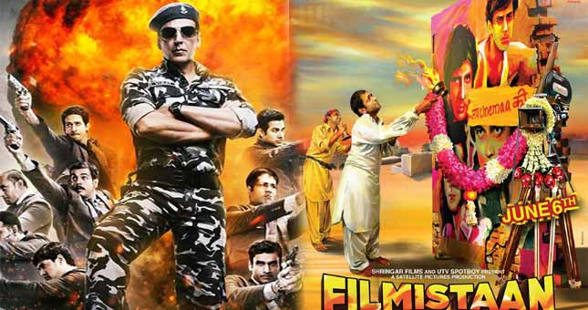 Filmi Friday: Holiday and Filmistaan are going to release today