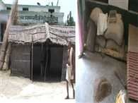 Primary school in Ballia turned into a buffalo stable and store room