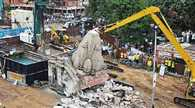 RSS angry against the demolition of temples
