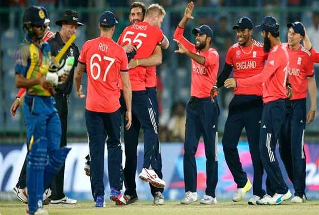 Sri Lanka in England T20 Match England won by 8 wickets