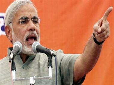 PM misleading country on sonia's tours: Modi