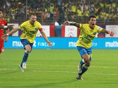 The men in yellow register their first victory against NorthEast United