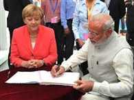 Modi, Merkel visit Bosch facilities in Bengaluru