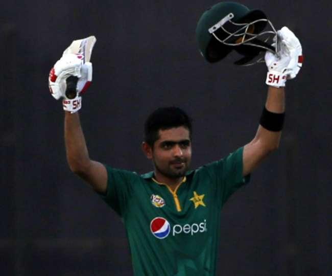 Pakistan's Babar Azam makes third consecutive ODI century and ...