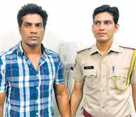 Inspector of Crime Patrol did threaten leaders, arrested