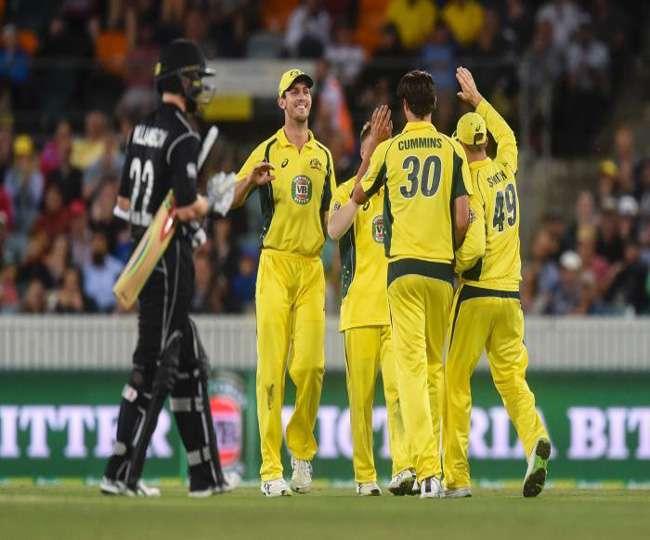 australia beat new zealand by 116 runs in canberra odi