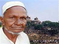 Who is Hashim Ansari and how he became prime mover of the Ayodhya land dispute