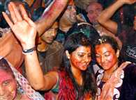 Everywhere holi of brij