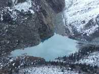 Artificial lake suddenly bursts at zanaskar Kargil