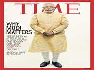 Prime minister Narendra modi on Time cover page.gives Interview in Hindii