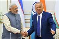 PM holds talks with Uzbek Prez; terror, Afghanistan discussed