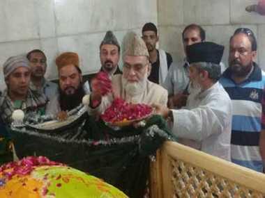 Shahi Imam of Jama mosque meet Harish rawat